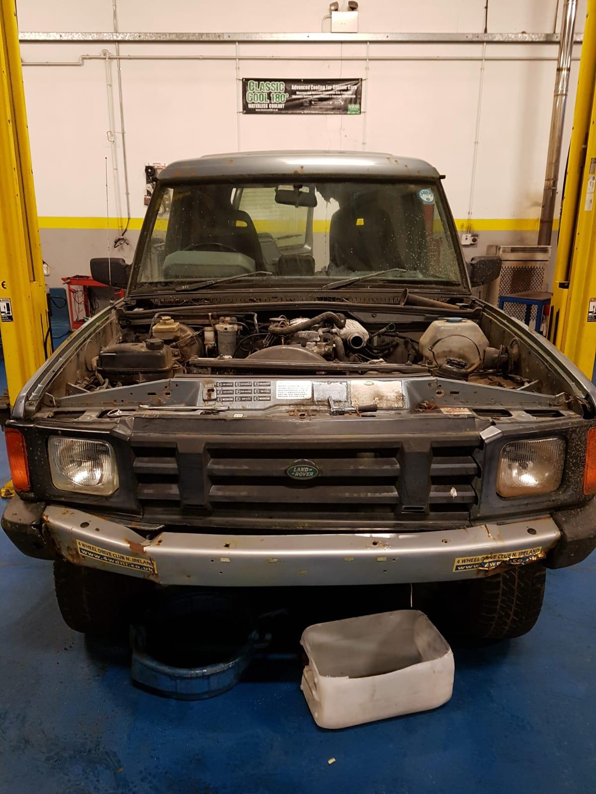 Classic Landrover Engine Conversion