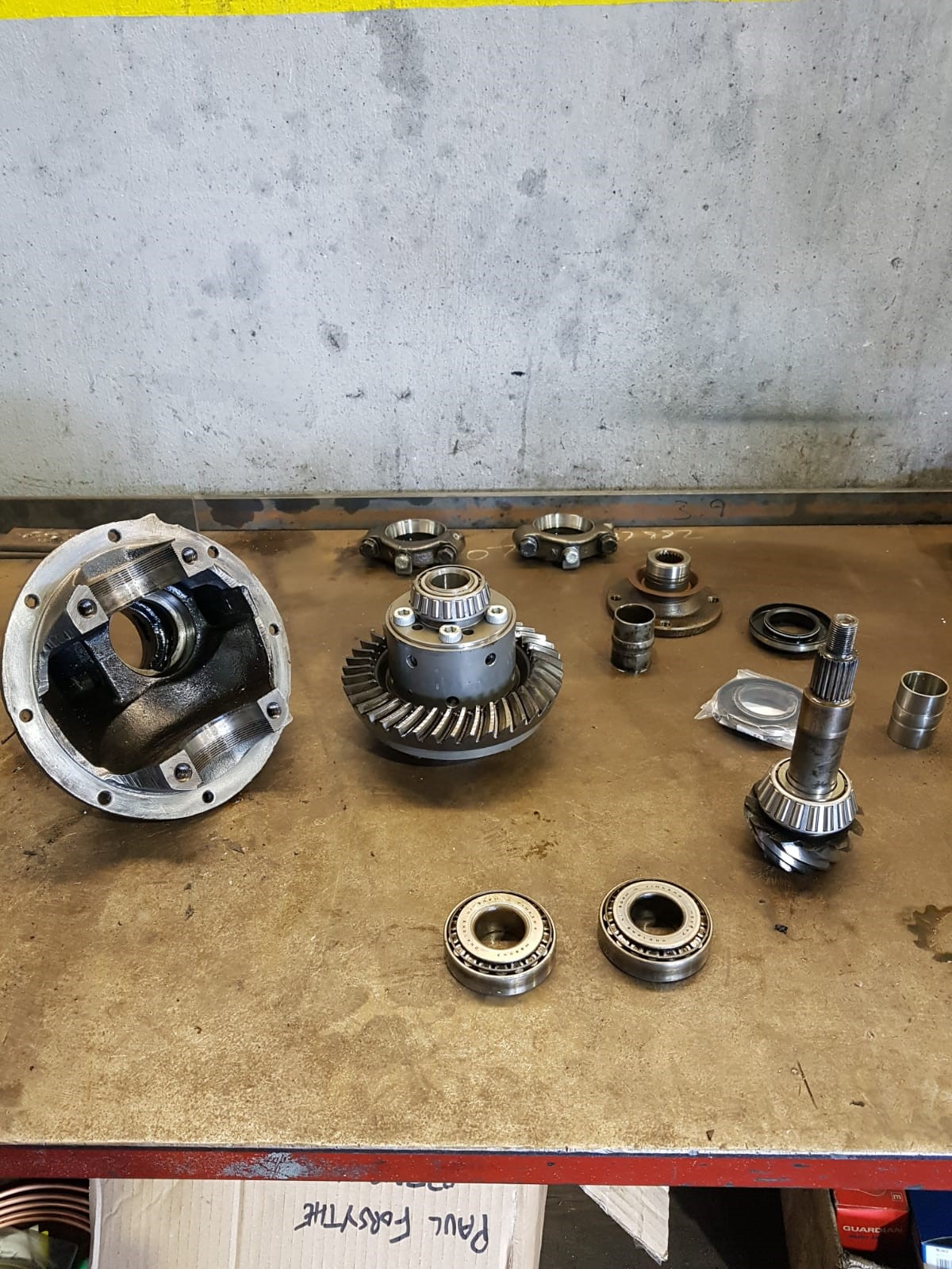 Reconditioned diffs and Rear Axles Manual Transmission